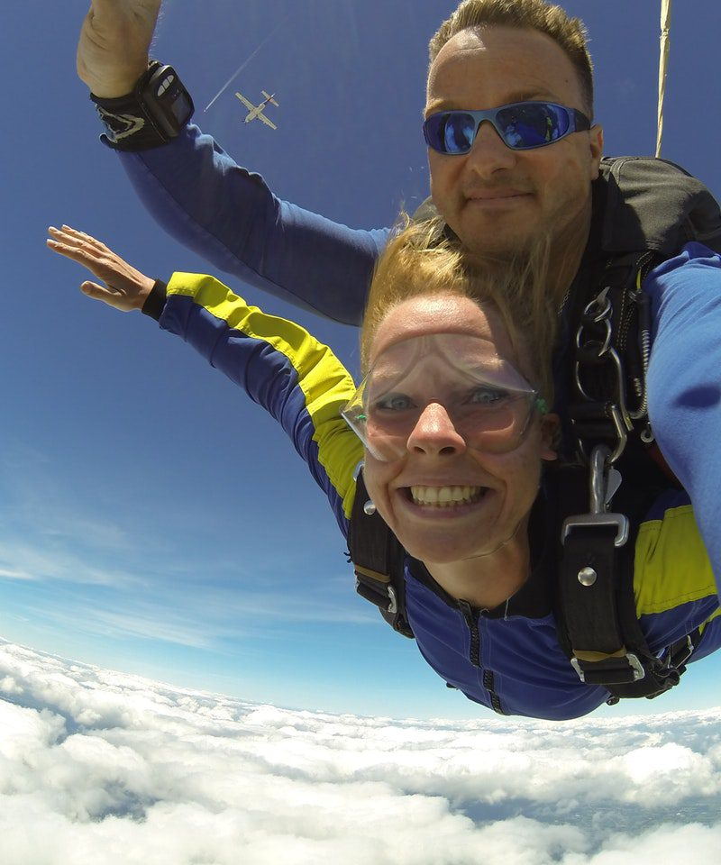 Skydive sponsorship – Barrow & Meridian Rotary Club