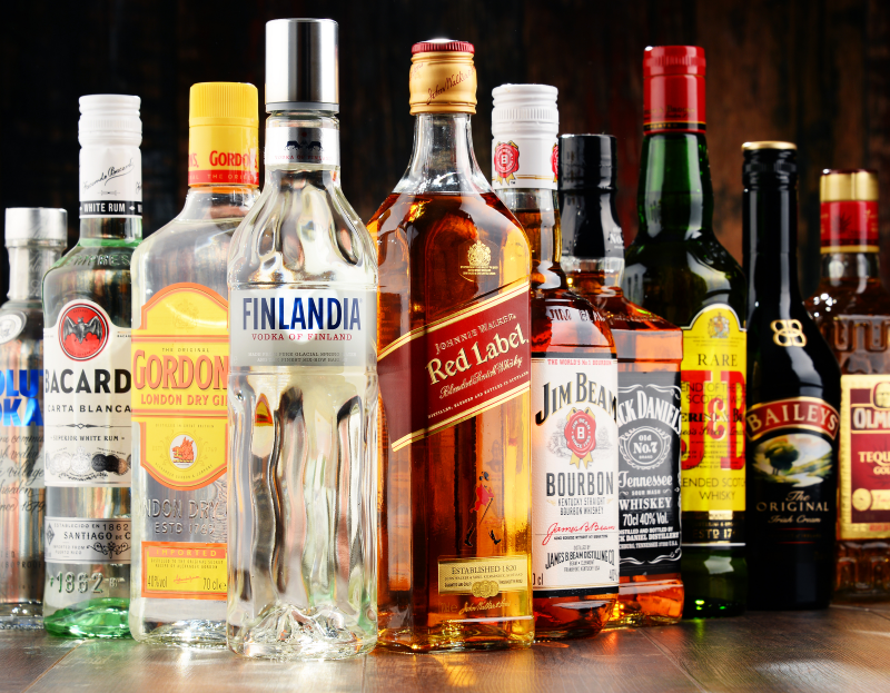 Alcohol at Christmas